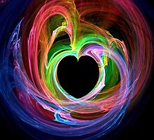 Colorful Heart  by Michelle BarlondSmith