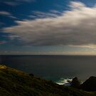Cape Reinga at night by Paul Mercer