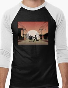 Sunset Suburban Men's Baseball ¾ T-Shirt