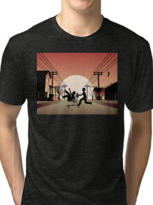 Sunset Suburban Tri-blend T-Shirt