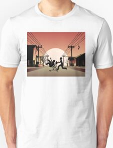 Sunset Suburban T-Shirt