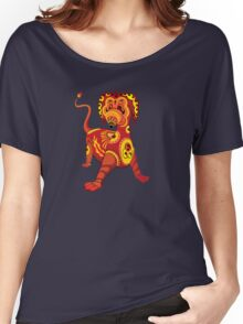 Funny Dragon Design T-Shirt Women's Relaxed Fit T-Shirt