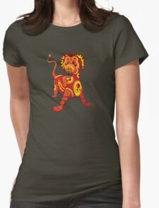 Funny Dragon Design T-Shirt Womens Fitted T-Shirt
