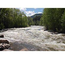 Mountain River - Avon, Colorado Photographic Print