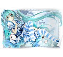 Vocaloid - Hatsune Miku Cute Poster