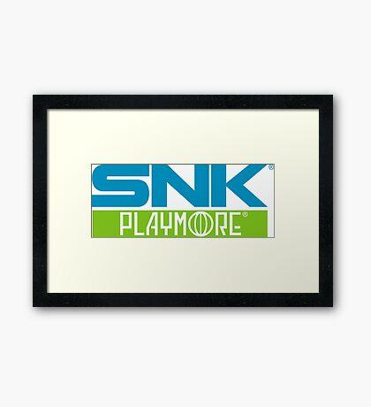 SNK PLAYMORE  Framed Print