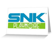 SNK PLAYMORE  Greeting Card