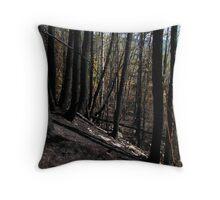 Charred Trees - Lake Superior - outside Pays Plat Ontario Throw Pillow