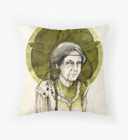 Olenna Tyrell Throw Pillow