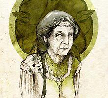 Olenna Tyrell by Elia Mervi