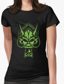 angry dragon Womens Fitted T-Shirt