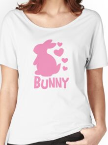 Cute pink BUNNY! rabbit  Women's Relaxed Fit T-Shirt