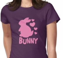 Cute pink BUNNY! rabbit  Womens Fitted T-Shirt