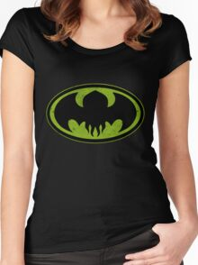 Dark God Rises Women's Fitted Scoop T-Shirt