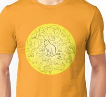 Cat activity sketch Unisex T-Shirt