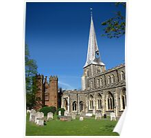 St Mary's Church and Deanery Tower Poster