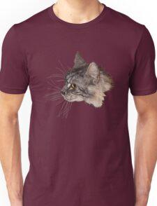Maine Coon Cat Head Unisex T-Shirt