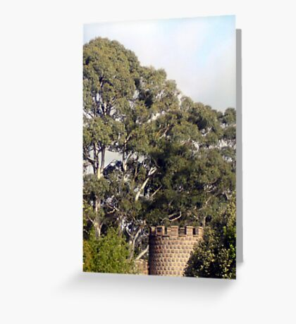 There's a Castle in the Bush - Kryal Castle (Ballarat) Greeting Card