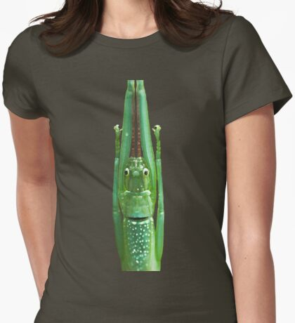 Stick Insect Womens Fitted T-Shirt