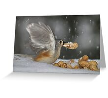 """""""Cold Lunch"""" Greeting Card"""