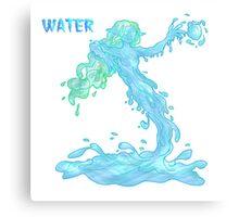 water elemental... Canvas Print