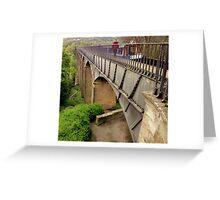 Telford Aqueduct Greeting Card