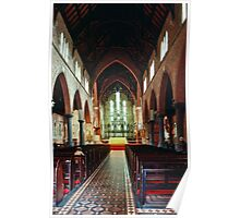 Nave Anglican Cathedral Perth 19820824 0030 Poster