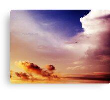 Enveloping Skies. Canvas Print