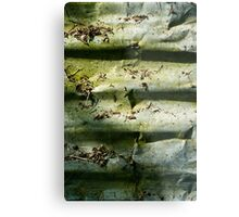 Corrugation Metal Print