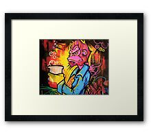 Monkey Bizness Framed Print