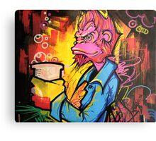 Monkey Bizness Metal Print
