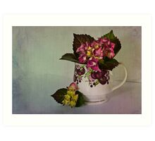 Flower arrangement Art Print