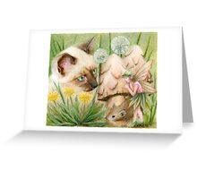 Hush Little Mouse Greeting Card