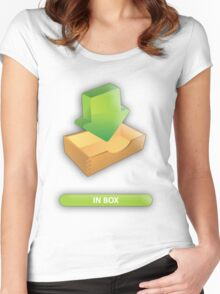 INBOX Women's Fitted Scoop T-Shirt