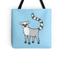 Ring Tailed Lemur Tote Bag
