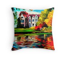 Crawley - West Sussex, England Throw Pillow