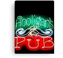 Hooligans Pub Canvas Print