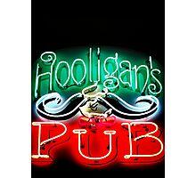 Hooligans Pub Photographic Print