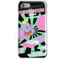 Pink Elephants Bubblegum iPhone Case/Skin