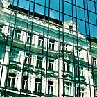 Reflections of prague by megative