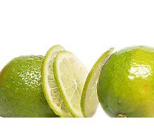 Lime fruit Photographic Print