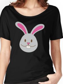Easter bunny super cute Chibi Women's Relaxed Fit T-Shirt