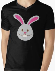 Easter bunny super cute Chibi Mens V-Neck T-Shirt