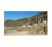 Beachscape at Little Bay, N.S.W. Australia. Art Print