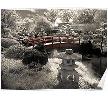 Gardens Infrared Poster