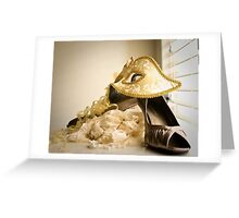 Masquarade Greeting Card