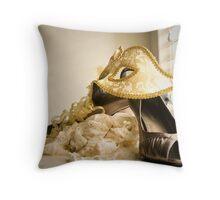 Masquarade Throw Pillow