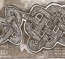 Celtic brown snake by SnakeArtist