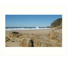 Little Bay, South West Rocks, N.S.W. Australia. Art Print