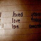 Love note. by belle2593